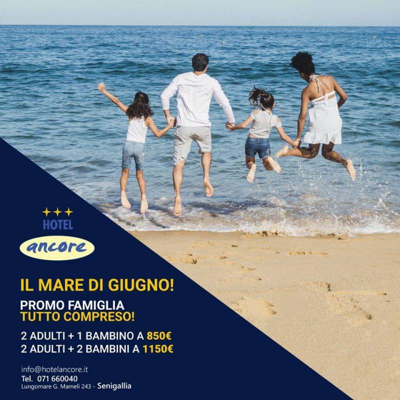 Hotel Ancore Senigallia - offerte giugno 2020